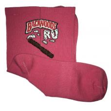 Носки BACKWOODS.RU розовые