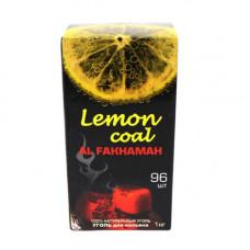 """Кокосовый уголь Al Fakhamah """"Lemon Coal"""" (96шт)"""