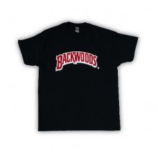 Футболка черная BACKWOODS.RU L