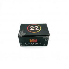 Уголь кокосовый Crown 22х22 мм (уп. 250г)