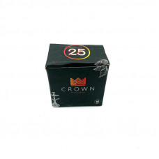 Уголь кокосовый Crown 25х25 мм (уп. 250г)