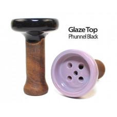 Чаша для кальяна ОБЛАКО Glaze Top Pfunnel Blakc