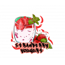Табак B3 - Be Free - Strawberry yoghurt