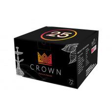 Уголь кокосовый Crown 25х25 мм (уп. 1 кг)